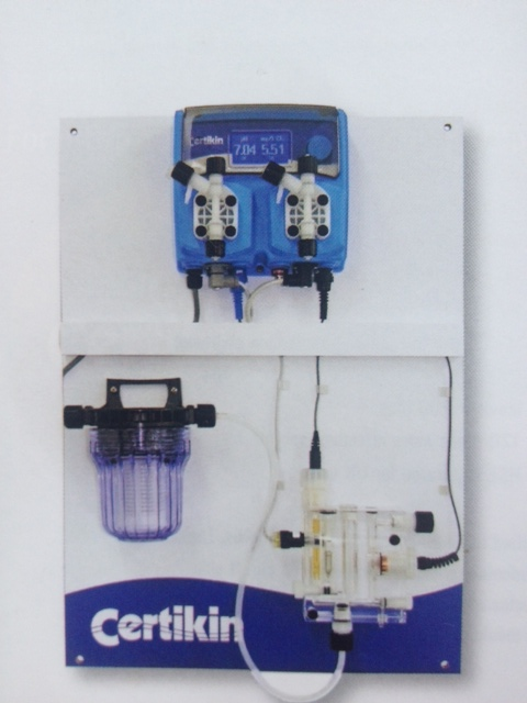 Certikin Proportional Ph Chlorine Dosing System For Sodium Hypochlorite And Acid Dosing