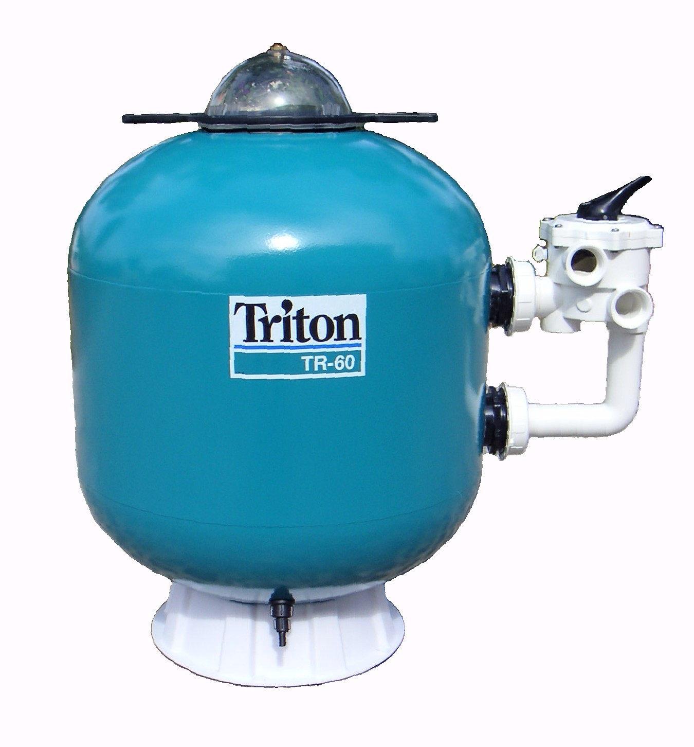 05 triton and atika side mount swimming pool sand filter for Pond sand filter