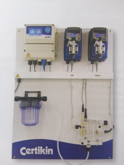 Certikin proportional larger ph chlorine dosing system - Chlorine calculator for swimming pools ...