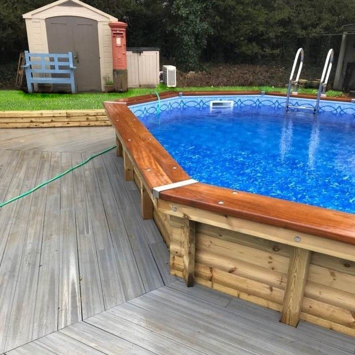 Endless Summer Luxury Wooden Swimming Pool